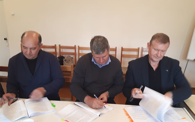 Профсоюзы подписали Коллективный договор с ТОО «Курылысмет»