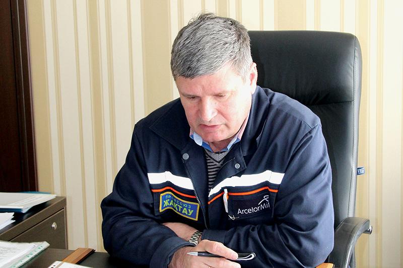 19 декабря  председатель  профсоюза «Жактау» проводит итоговую «прямую линию» для работников комбината
