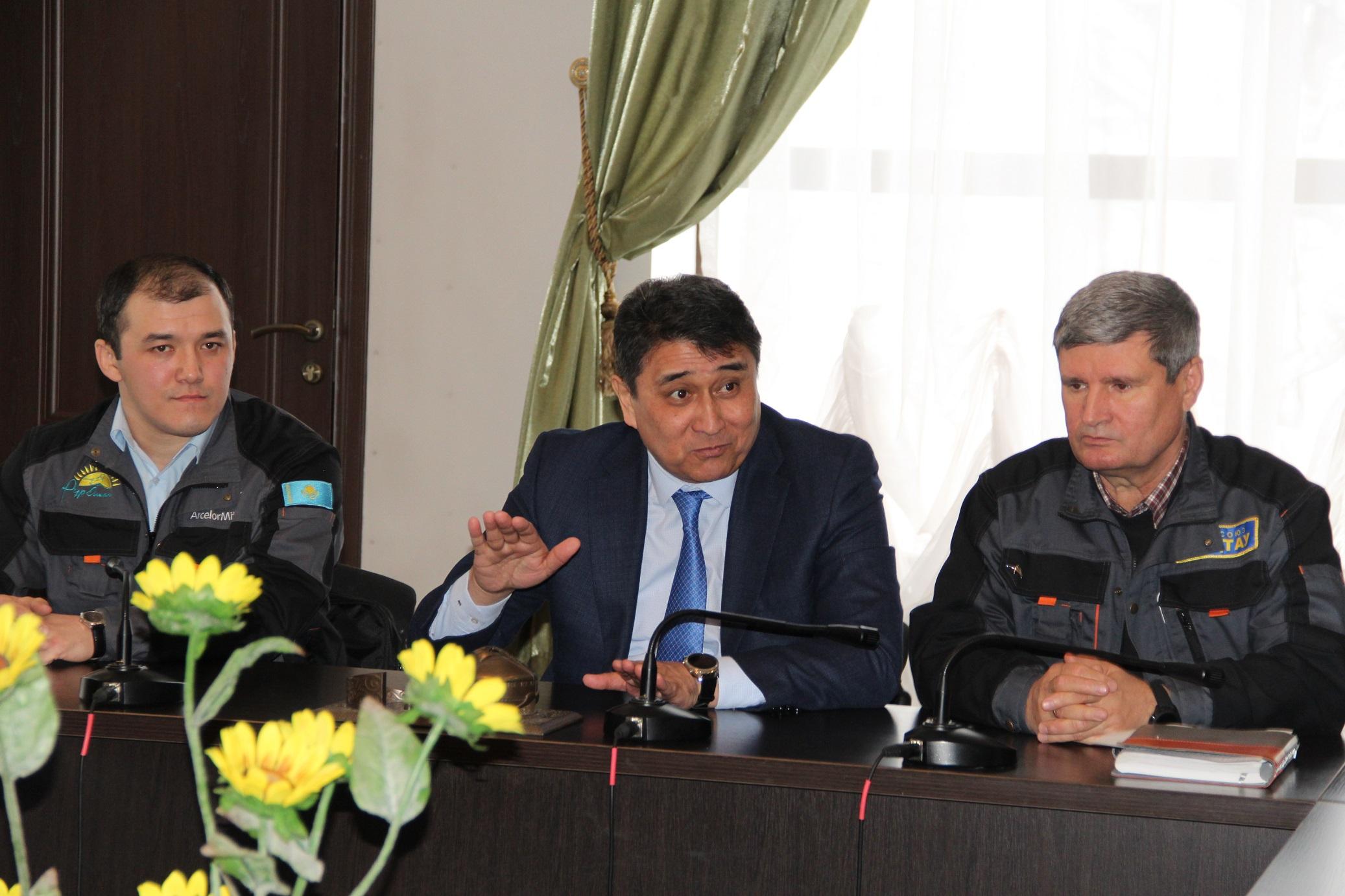 Профактив «Жактау» будет контролировать транспортный вопрос совместно с акимом города